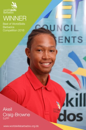 Best of the WorldSkills Barbados Competition 2016 Award